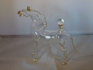 Horse You have the option to fill him with any liquid you want.  280,- SEK